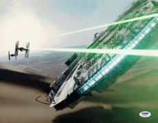J.J. Abrams Star Wars Force Awakens Autographed Signed 11x14 Photo PSA/DNA