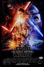 J.J. Abrams Star Wars Force Awakens Autographed Signed 12x18 Photo PSA/DNA