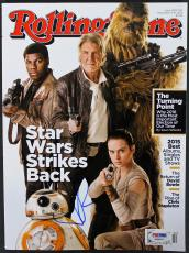 J.J. Abrams Star Wars Signed Rolling Stone Magazine PSA/DNA #AA84074