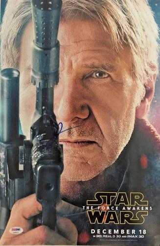 JJ ABRAMS STAR WARS THE FORCE AWAKENS SIGNED 11X17 Photo BAS Beckett COA