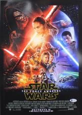 J.J. Abrams Star Wars The Force Awakens Signed 12x18 Photo BAS #C15355