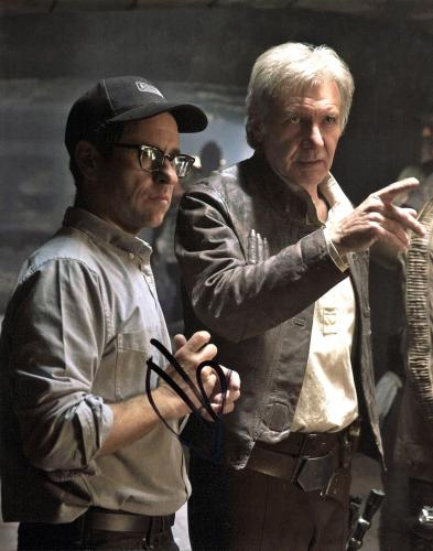 J.J. Abrams Star Wars The Force Awakens Signed 8x10 Photo BAS #B84288
