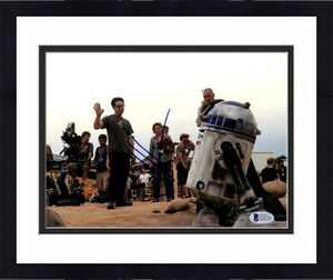 J.J. Abrams Star Wars The Force Awakens Signed 8x10 Photo BAS #E20760