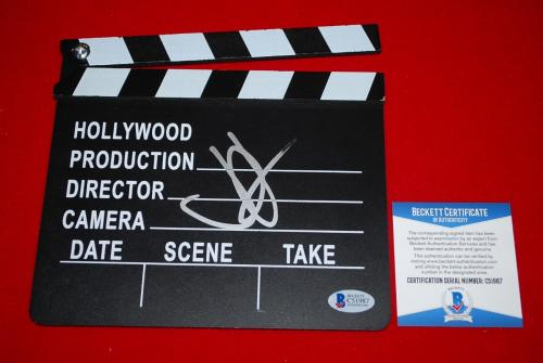 JJ ABRAMS star wars the force awakens signed directors clap board beckett COA