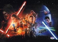 J.J JJ Abrams Signed 11x14 Photo PSA/DNA Star Wars VII The Force Awakens Picture