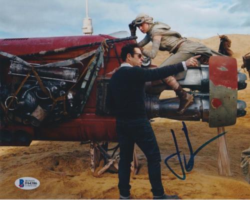 Jj J.j. Abrams Signed 8x10 Photo Star Wars Trek Beckett Bas Autograph Auto Coa Z