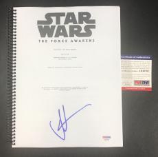 J.j. Jj Abrams Signed Autographed Star Wars Full Movie Script Psa/dna Psa Coa