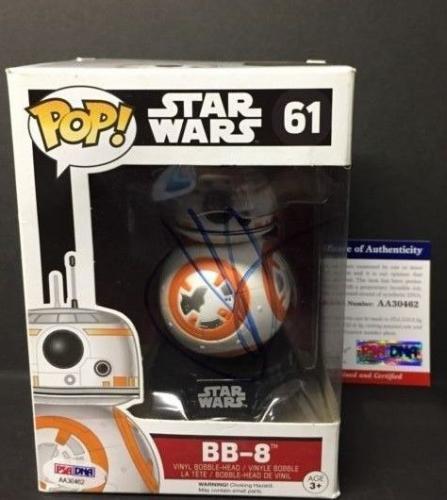 J.J. JJ Abrams Signed Star Wars BB-8 Funko Pop Figure PSA AA30462