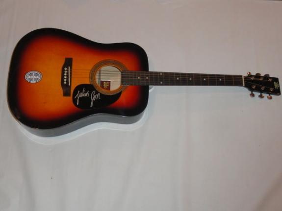 Jj Julius Son Signed Sunburst Acoustic Guitar Kaleo Exact Proof Superstar