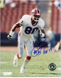 James Lofton Buffalo Bills Autographed 8'' x 10'' Star Photograph with HOF 03 Inscription - Mounted Memories