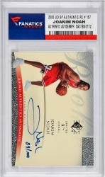 Joakim Noah Autographed 2008 Upper Deck SP Authenic RC #157 Card