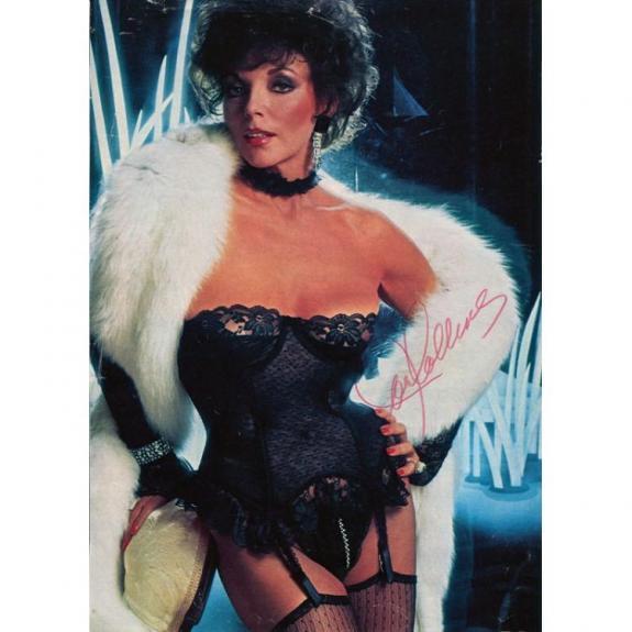 Joan Collins Autographed 8x10 Photo