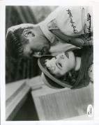 Joan Fontaine Douglas Fairbanks Jr Jsa Autograph 8x10 Gunga Din Photo Signed