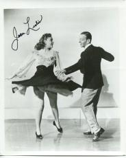 JOAN LESLIE HAND SIGNED 8x10 PHOTO+COA          DANCING WITH FRED ASTAIRE