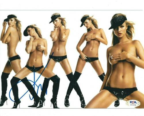 Joanna Krupa Signed 8x10 Photo *Model PSA AH75769