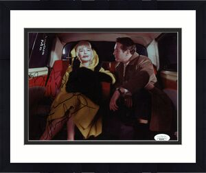 JOANNE WOODWARD HAND SIGNED 8x10 COLOR PHOTO        WITH PAUL NEWMAN       JSA