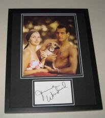 Joanne Woodward Signed Framed 11x14 Photo Display w/ Paul Newman