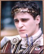 Joaquin Phoenix signed 8x10 photo Gladiator close up PSA/DNA autograph