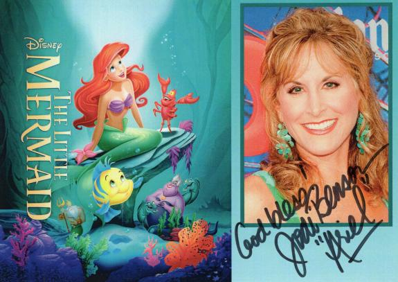 JODI BENSON HAND SIGNED 5x7 COLOR PHOTO+COA         ARIEL FROM LITTLE MERMAID
