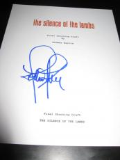 Jodie Foster Signed Autograph Silence Of The Lambs Script All Pages Coa X6
