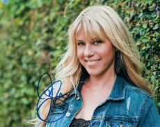 Jodie Sweetin Full House Autographed Photo UACC RD AFTAL RACC TS