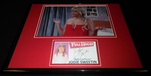 Jodie Sweetin Signed Framed 11x14 Photo Display Fuller House Full House