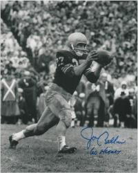 "Joe Bellino Navy Midshipmen Autographed 8"" x 10"" Photograph with ""60 Heisman"" Inscription - Mounted Memories"