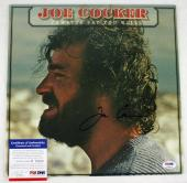 Joe Cocker Jamaica Say You Will Signed Album Cover PSA/DNA #P35824