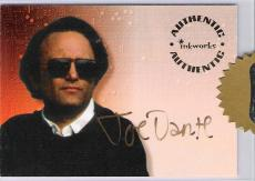 "JOE DANTE - Directed ""SMALL SOLDIERS"" and Several Other Movies Signed AUTHENTIC Card from inkworks"