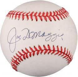 Joe DiMaggio Autographed Baseball JSA Authenticated