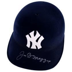 Joe Dimaggio New York Yankees Autographed Batting Helmet (JSA)