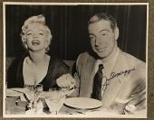 Joe DiMaggio Rare Signed Vintage Marilyn Monroe 11x14 Photo