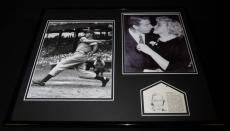 Joe Dimaggio Signed Framed 16x20 Photo Display PSA/DNA Yankees w/ Marilyn Monroe