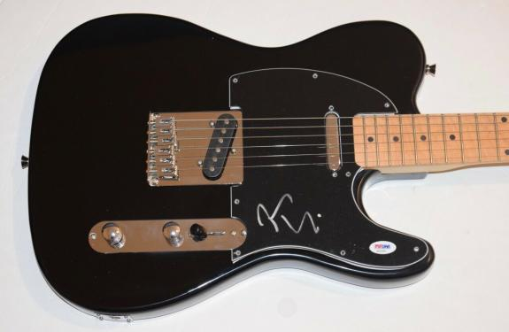 Joe Elliott Signed Autographed Electric Guitar Def Leppard PSA/DNA COA