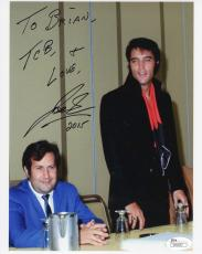 JOE ESPOSITO HAND SIGNED 8x10 COLOR PHOTO     ELVIS PRESLEY     TO BRIAN     JSA