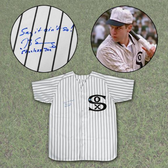 Joe (MLB) Jackson Autographed Jersey