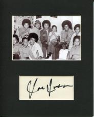 Joe Jackson Father Of Michael Jackson Manager Signed Autograph Photo Display