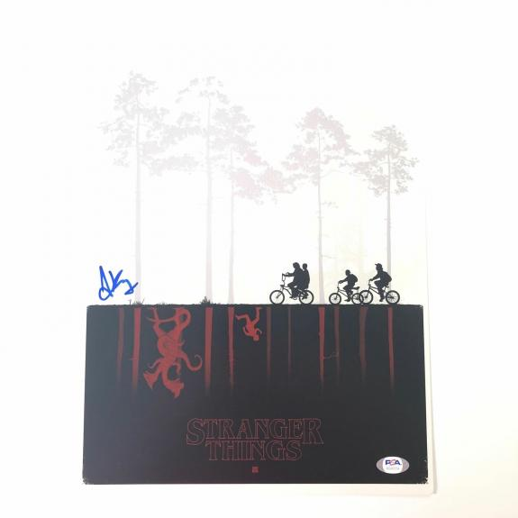 Joe Keery signed 11x14 photo PSA/DNA Autographed Stranger Things
