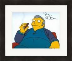 Joe Mantegna autographed 8x10 photo (The Simpsons, Fat Tony, Mafia) Image #1 Matted & Framed