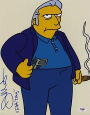 Joe Mantegna SIGNED 12x14 Photo VOICE FAT TONY The Simpsons PSA/DNA AUTOGRAPHED