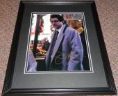 Joe Mantegna Signed Framed 8x10 Photo Criminal Minds Godfather Simpsons B