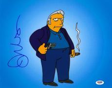 Joe Mantegna Signed Simpsons Authentic Autographed 11x14 Photo PSA/DNA #T80375
