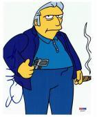 Joe Mantegna Signed Simpsons Authentic Autographed 8x10 Photo PSA/DNA #K03377