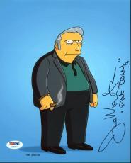 """Joe Mantegna The Simpsons """"Fat Tony"""" Signed 8X10 Photo PSA/DNA AB43604"""