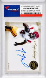 Joe McKnight University of Southern California Autographed 2010 Press Pass Legends #SS-JM Card