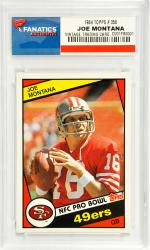 Joe Montana San Francisco 49ers 1984 Topps #358 Card