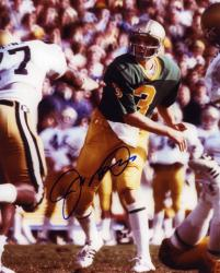 Joe Montana Notre Dame Fighting Irish Autographed 8'' x 10'' Photograph - Mounted Memories