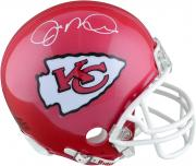 Joe Montana Kansas City Chiefs Autographed Riddell Mini Helmet