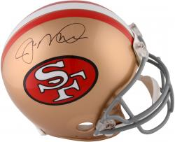Joe Montana San Francisco 49ers Autographed Pro-Line Riddell Authentic Helmet