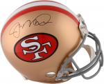 Joe Montana San Francisco 49ers Autographed Pro-Line Riddell Authentic Helmet - Mounted Memories